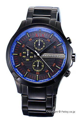 アルマーニ エクスチェンジ 時計 Armani Exchange 腕時計 メンズ オールブラック(マルチカラー) AX2191 【あす楽】