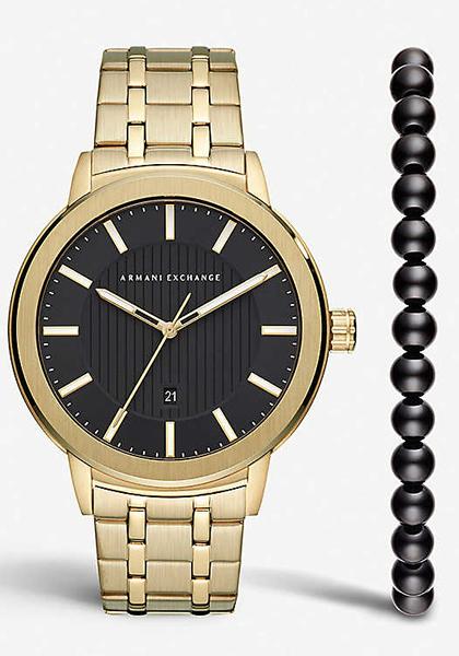 アルマーニ エクスチェンジ 時計 Armani Exchange メンズ 腕時計 Maddox Gift Set AX7108