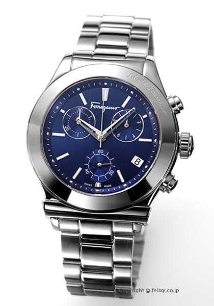 サルヴァトーレ フェラガモ Salvatore Ferragamo 腕時計 Vega Chronograph メンズ FH6020016