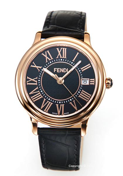フェンディ 時計 FENDI メンズ 腕時計 Classico Round F256511011