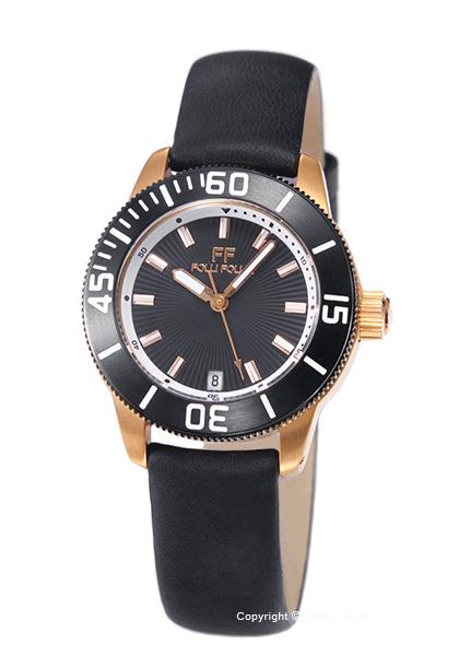 フォリフォリ 時計 FOLLI FOLLIE レディース 腕時計 WF8R037SDK-BK