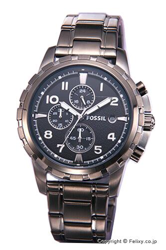 フォッシル 時計 FOSSIL 腕時計 DEAN (ディーン) オールガンメタル FS4721