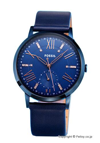 フォッシル 時計 FOSSIL 腕時計 GAZER (ゲイザー) ネイビー×ローズゴールド ES4109