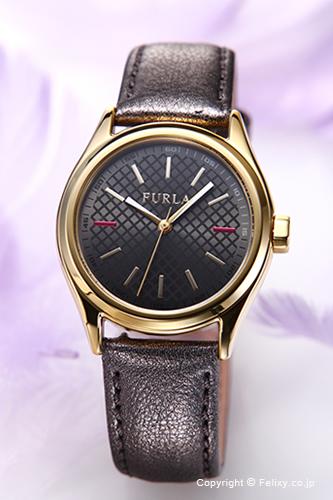 フルラ 時計 FURLA 腕時計 レディース Eva35(エヴァ35) メタリックグレー×ゴールド R4251101501