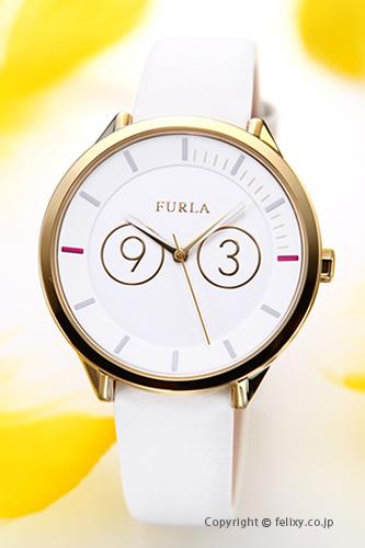 フルラ 時計 FURLA 腕時計 レディース Metropolis39 (メトロポリス39) シルバー×ゴールド R4251102503 【あす楽】