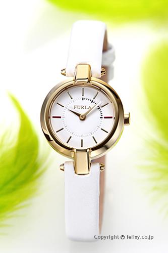 フルラ 時計 FURLA 腕時計 レディース Linda (リンダ) ホワイト×ゴールド R4251106502 【あす楽】
