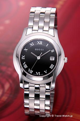 グッチ 時計 GUCCI YA055302 腕時計 メンズ ブラック
