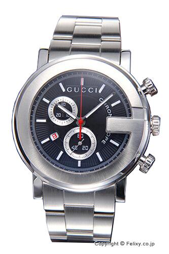 グッチ 時計 GUCCI 腕時計 メンズ G-Chrono ブラック YA101309