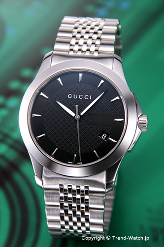 グッチ 時計 GUCCI 腕時計 メンズ Gタイムレスブラック YA126402