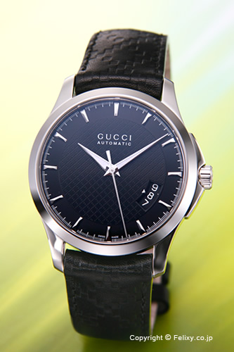 0895f57d6ea GUCCI and Gucci watches G-Timeless Collection Medium (g-timeless collection  medium) black   black leather strap mens YA126413