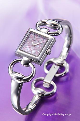 グッチ 時計 GUCCI 腕時計 レディース Tornabuoni (トルナブォーニ) ピンクパール YA120515