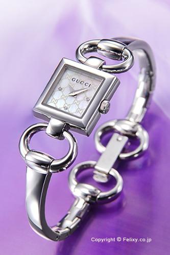 グッチ 時計 GUCCI 腕時計 レディース Tornabuoni (トルナブォーニ) ホワイトパール YA120517