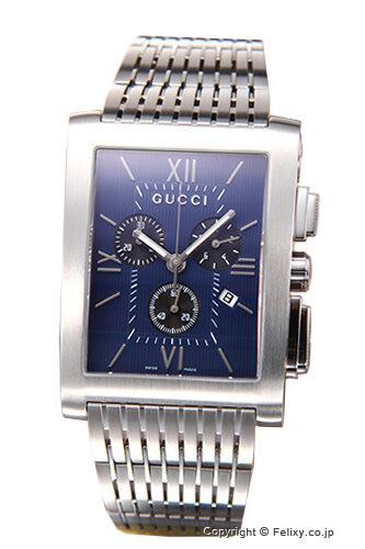 グッチ 時計 GUCCI YA086318 腕時計 メンズ ネイビー×ブラック