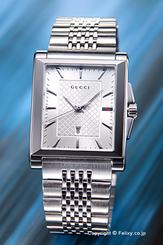 e08592157e7 trend-watch  GUCCI Gucci watch mens g-timeless rectangle silver ...