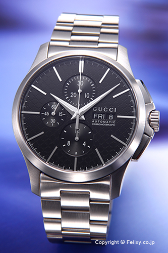 グッチ 時計 GUCCI 腕時計 G-Timeless Automatic Chronograph メンズ YA126264