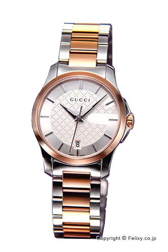 グッチ 時計 レディース GUCCI 腕時計 G-Timeless YA126528