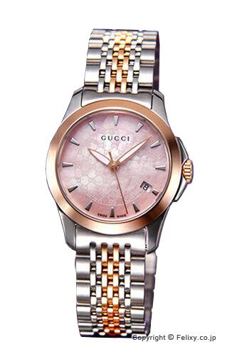 グッチ 時計 GUCCI 腕時計 レディース G-タイムレス コレクション SRG ピンクパール スモールバージョン YA126536