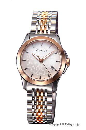 グッチ 時計 GUCCI 腕時計 レディース G-タイムレス コレクション SRG ホワイトパール スモールバージョン YA126537