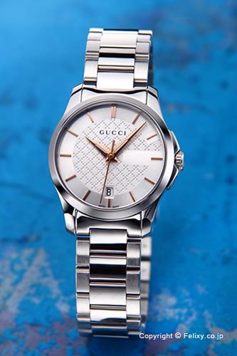 グッチ 時計 レディース GUCCI 腕時計 G-Timeless YA126523