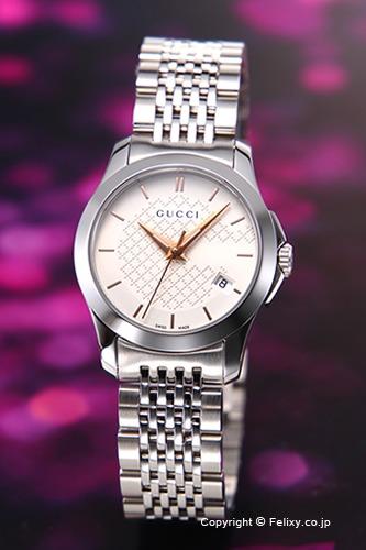 グッチ 時計 レディース GUCCI 腕時計 G-Timeless YA126565