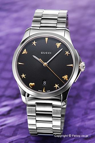 グッチ 時計メンズ GUCCI 腕時計 G-Timeless Collection Signature YA1264029A