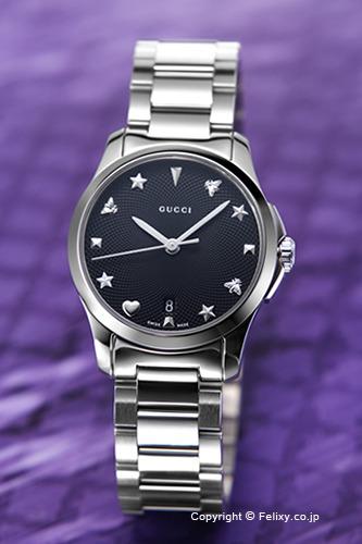 グッチ 時計 GUCCI 腕時計 レディース G-Timeless Collection Signature YA126573