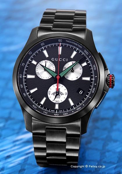 グッチ GUCCI 腕時計 G-Timeless Chronograph YA126268 【あす楽】