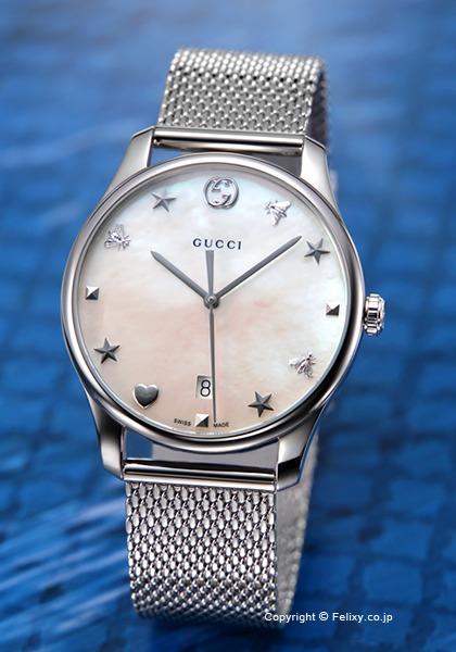 グッチ 時計 メンズ GUCCI 腕時計 G-Timeless Collection Signature YA1264040