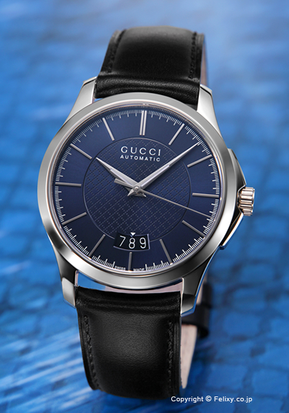 d02fbd2a904b 腕時計 G-Timeless Collection ユンカース Automatic YA126443 グッチ 時計 Gメンズ UCCI G- Timeless Collection 新色追加