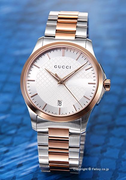 グッチ 時計 メンズ GUCCI 腕時計 G-Timeless Collection YA126473