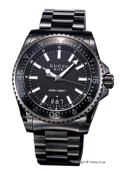 グッチ 時計 GUCCI 腕時計 メンズ Dive Collection YA136205