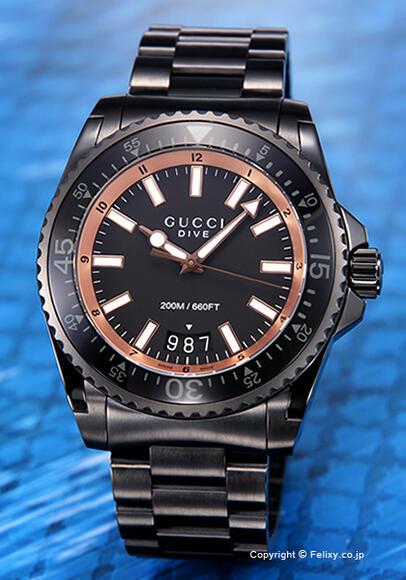 グッチ 時計 メンズ GUCCI 腕時計 Dive YA136213