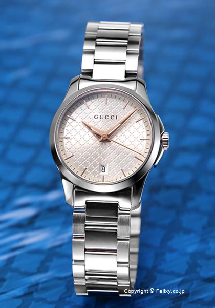 グッチ 時計 レディース GUCCI 腕時計 G-Timeless Collection YA126593