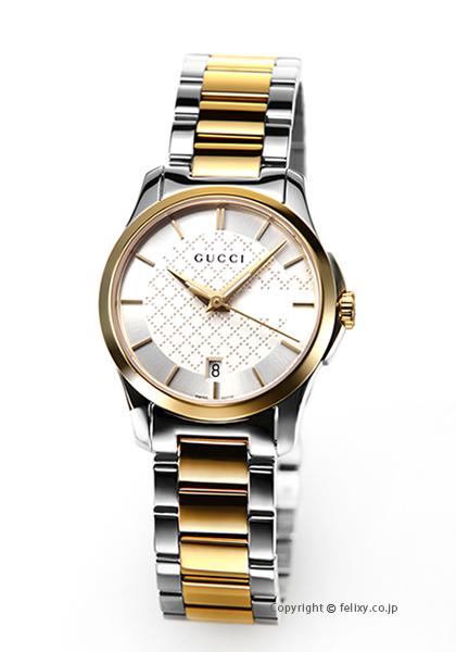 グッチ 時計 レディース GUCCI 腕時計 G-Timeless Collection YA126563