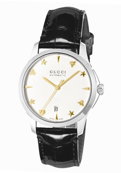 グッチ 時計 GUCCI メンズ 腕時計 G-Timeless Signature Automatic YA126468