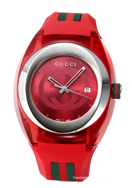 グッチ 時計 GUCCI メンズ 腕時計 Sync XXL YA137103A