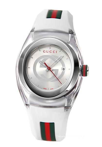 グッチ 時計 GUCCI レディース 腕時計 Sync M YA137302