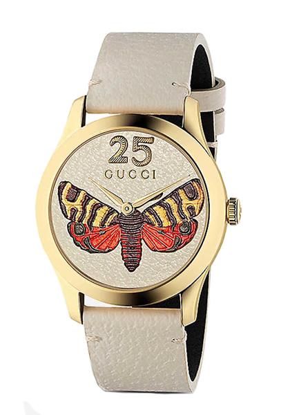 グッチ 時計 GUCCI 腕時計 G-Timeless Embroidered Butterfly YA1264062A