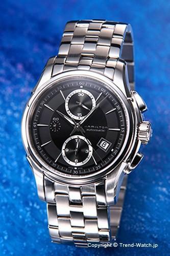ハミルトン 腕時計 HAMILTON Jazz Master(ジャズマスター) クロノグラフ ブラック H32616133