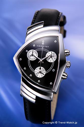 ハミルトン 腕時計 HAMILTON Ventura(ベンチュラ) クロノグラフ メンズ H24412732