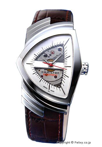 ハミルトン 腕時計 HAMILTON Ventura Auto(ベンチュラ オート) シルバー H24515551
