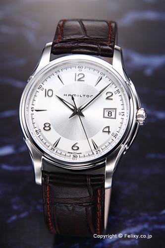 ハミルトン 腕時計 メンズ HAMILTON Jazzmaster(ジャズマスター) シルバー H32411555