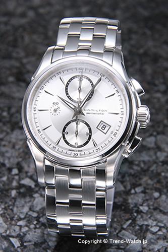 ハミルトン 腕時計 HAMILTON Jazz Master(ジャズマスター) クロノグラフ シルバー H32616153