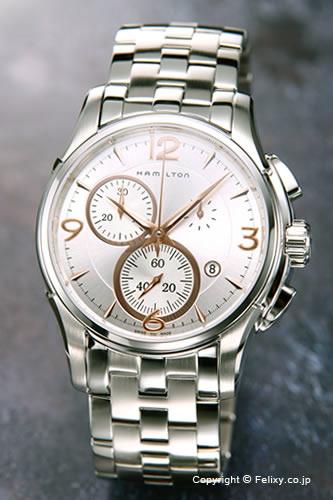 ハミルトン HAMILTON 腕時計 Jazzmaster Chronograph H32612155 【あす楽】
