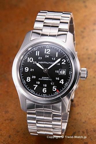 ハミルトン 時計 AL完売しました H70515137 送料無料 HAMILTON 腕時計 当店一番人気 Khaki Auto メンズ Field