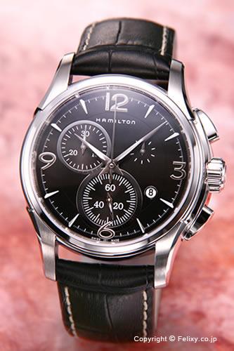 ハミルトン 時計 メンズ HAMILTON 腕時計 Jazzmaster Chronograph H32612735