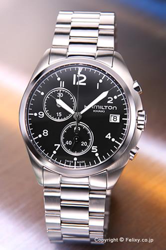 ハミルトン HAMILTON 腕時計 Khaki Pilot Pioneer Chrono H76512133 【あす楽】