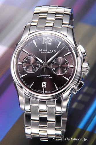 ハミルトン 腕時計 メンズ HAMILTON Jazzmaster Auto Chrono(ジャズマスター オート クロノ) ダークグレー H32606185