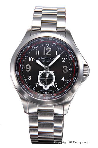 ハミルトン 時計 HAMILTON メンズ 腕時計 Khaki Aviation QNE Auto H76655133 年末 子どもの日 お祝い 30%OFFクーポン!