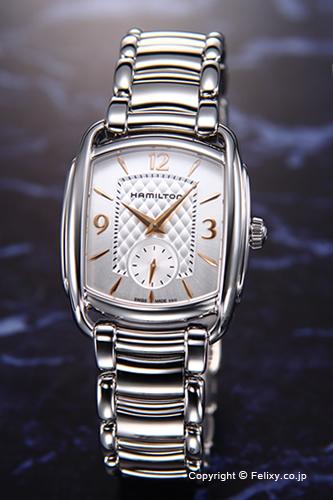 HAMILTON ハミルトン 腕時計 Bagley Quatz (バグリー クォーツ) シルバー H12451155